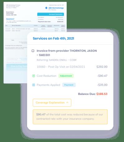 billing statements