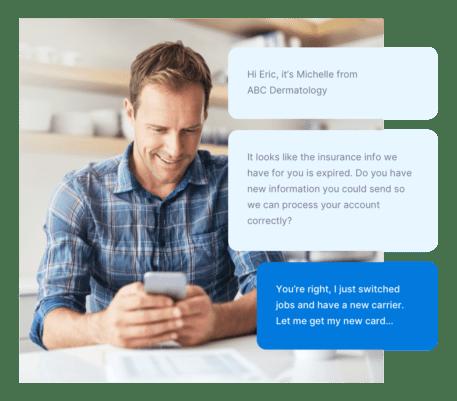 communicating via text