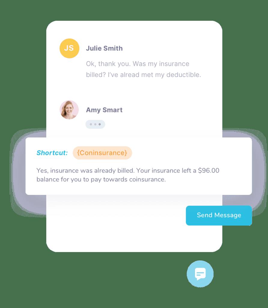 smart response shortcuts